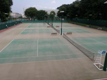 コート 国立 市 テニス