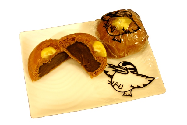 市の鳥をイラストした和菓子東京都小平市公式ホームページ